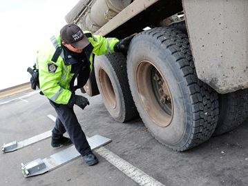 commercial vehicle fines