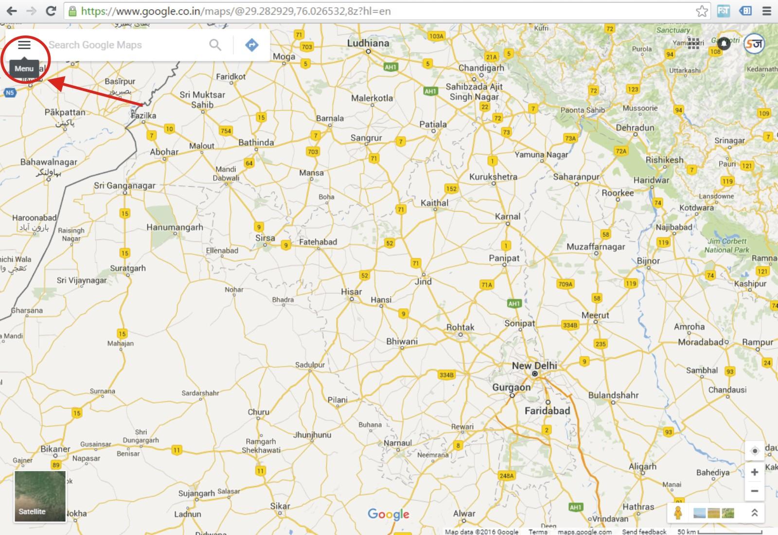 google maps ki jankari