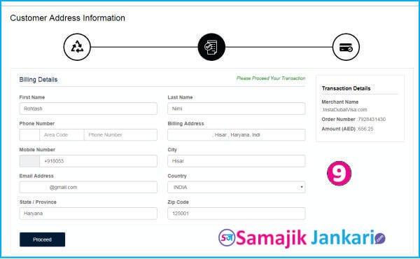 uae visa process for indian