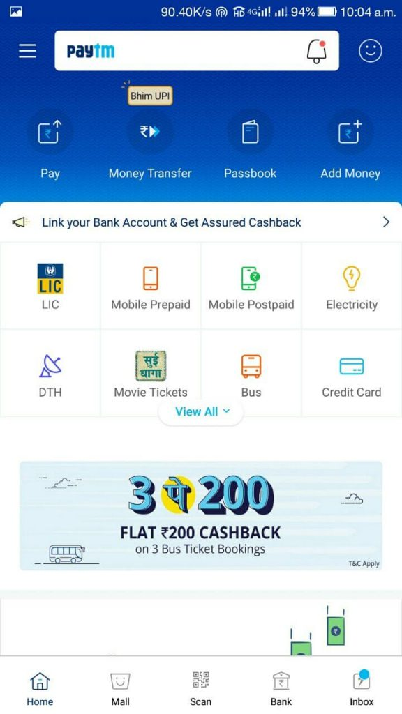 Online Lic Payment Through Paytm 1