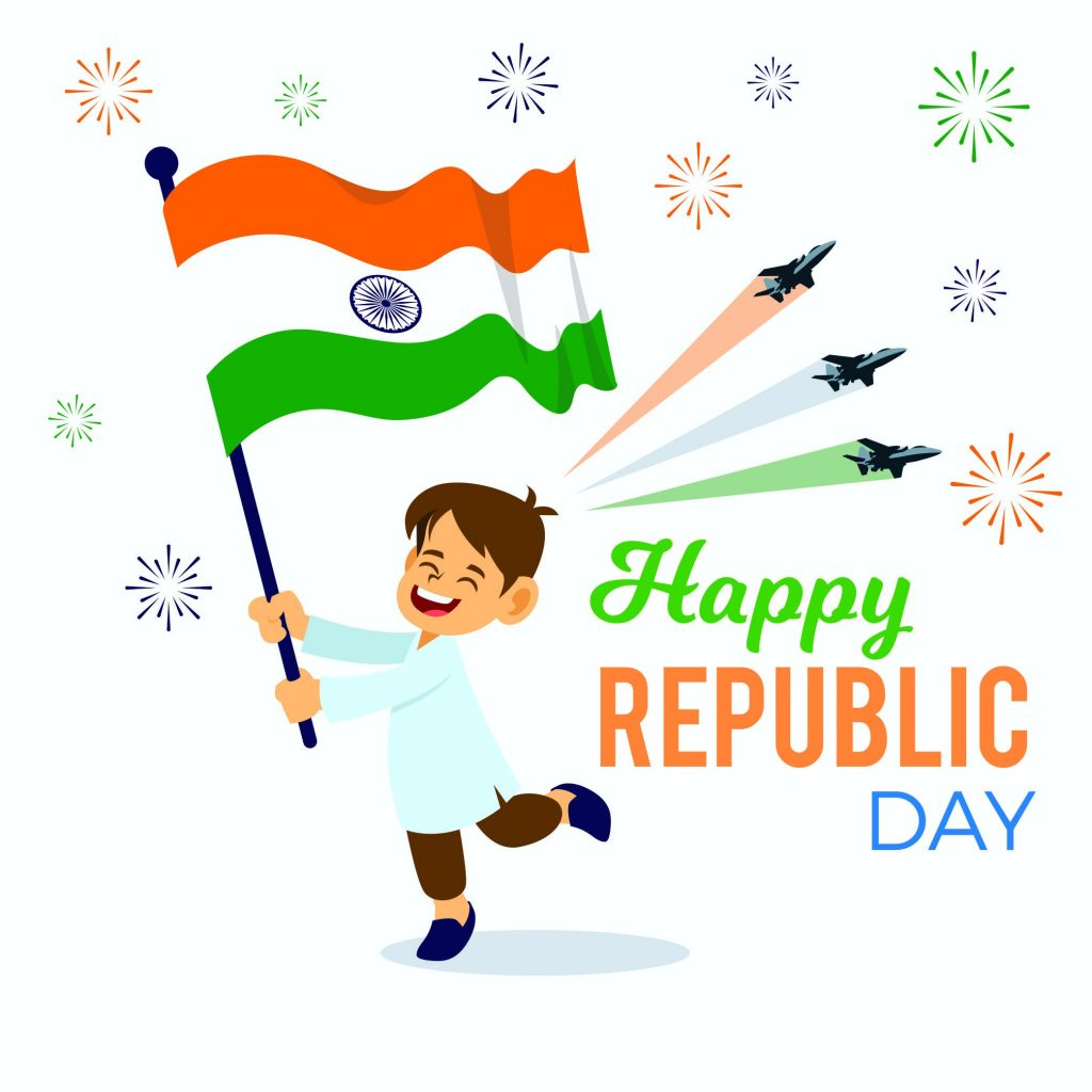 Happy Republic Day Hindi , HD Images ,Quotes ,Wishes ,Wallpaper