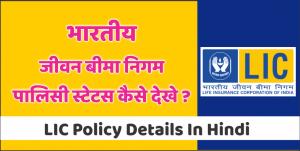LIC-Policy-Details-In-Hindi-भारतीय-जीवन-बीमा-निगम-पालिसी-स्टेटस