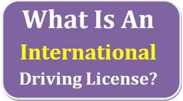 What is an international driving license